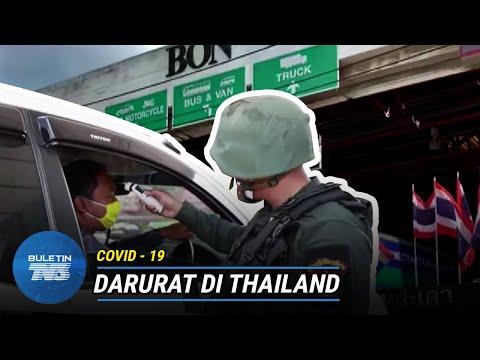 COVID-19 |Thailand Isytihar Perintah Darurat