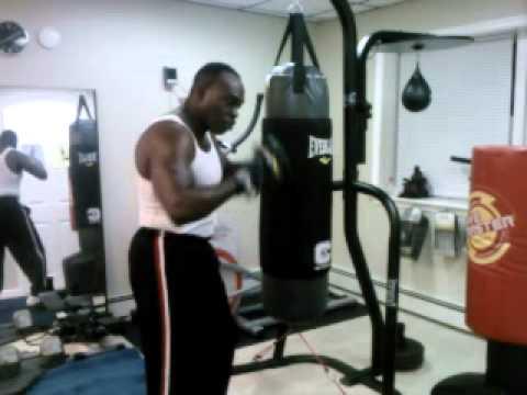 Strength Training Thru Use Of 100lb Heavy Bag