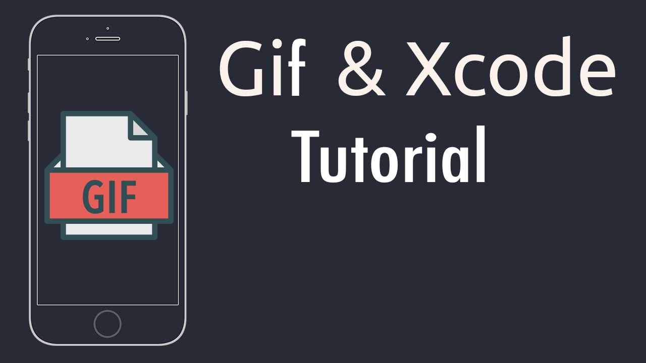 iOS tutorial: How to play Gif on background (Swift on Xcode)
