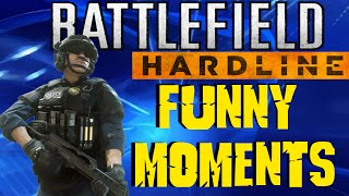 battlefield hardline funny moments wtf glitch taser trolling retard run rage bfh funny moments