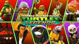 ЧЕРЕПАШКИ НИНДЗЯ - СОСТАВЫ ПОДПИСЧИКОВ - НОВЫЕ СЕРИИ (мобильная игра) видео для детей TMNT Legends