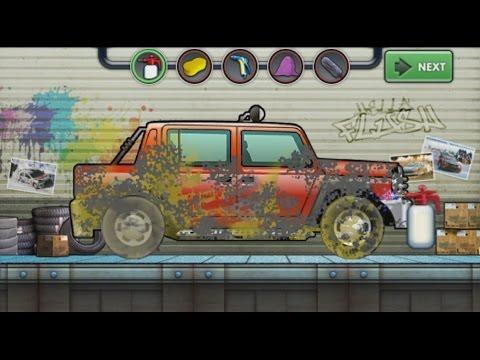 Мультики про Машинки - Раскраска и Автомойка машин, Развивающий мультик для детей