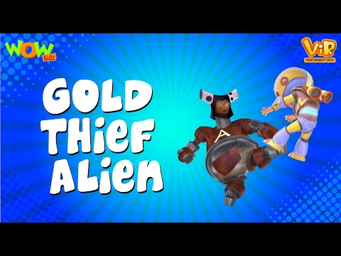 Gold Thief Alien - Vir: The Robot Boy WITH ENGLISH, SPANISH & FRENCH SUBTITLES thumbnail