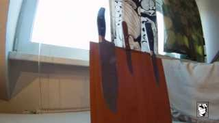 Diy Magnetic Knife Block