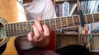 Turbostaat - Urlaub auf Fuhferden für Akustikgitarre mit Tab [Instrumental]