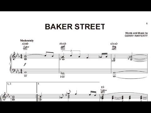 Baker Street Sheet Music