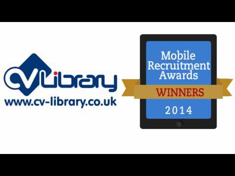 Mobile Recruitment Awards – Interview with CV Library – Best Mobile Website – Job Board