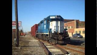 Emdx 799 Works Bnsf's Lumber District, Pilsen, Chicago, 11.01.11