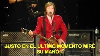 Paul McCartney- Juniors Farm (Subtitulada Español) (Zócalo México: 2012)