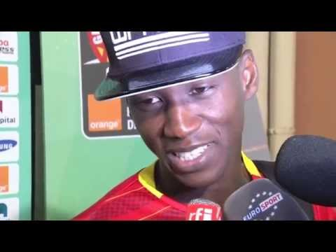 Post-match Interviews: Guinea players - Orange Africa Cup of Nations, EQUATORIAL GUINEA 2015