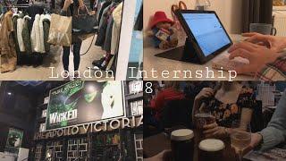 vlog #21 | 런던 인턴십 ?? | 인턴의 주중일…