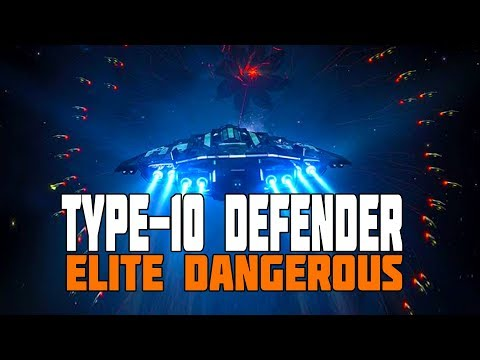 Elite Dangerous - Type-10 Defender Released - First Look at the New Ship