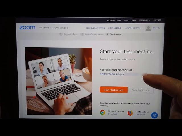 Zoom meetings - How to Create an Account in Zoom Tutorial Video 617