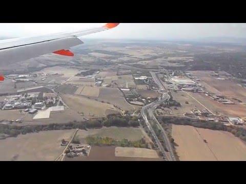 Landing in Madrid