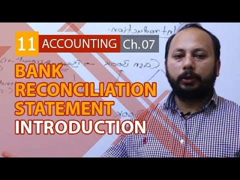 I.Com Part 1 Accounting,ch 7,lec 8,Introduction to Bank Reconciliation Statement-Inter Part 1