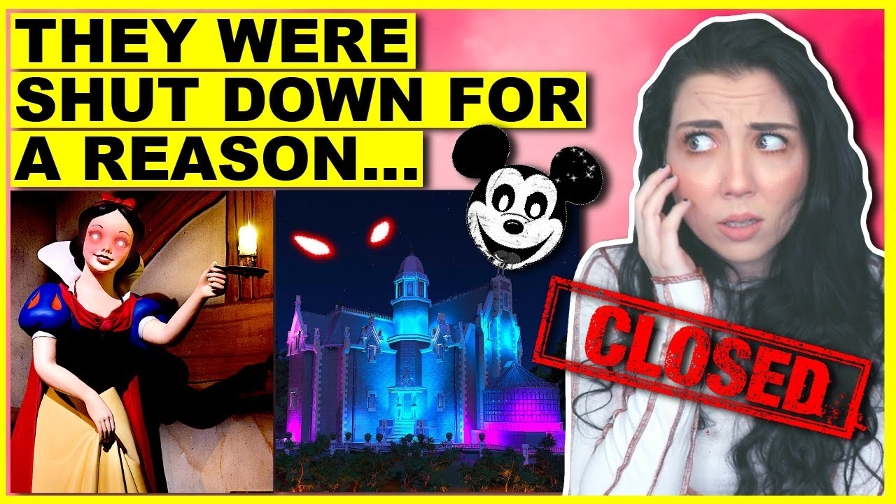 The Lost Disney Rides They Want You To FORGET About...