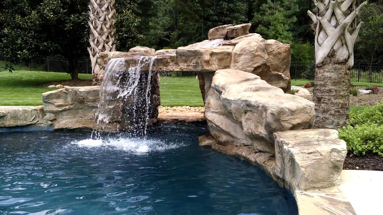 Image Result For Rock Waterfalls For Pools