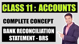 class 11th accountancy bank reconciliation statement brs complete