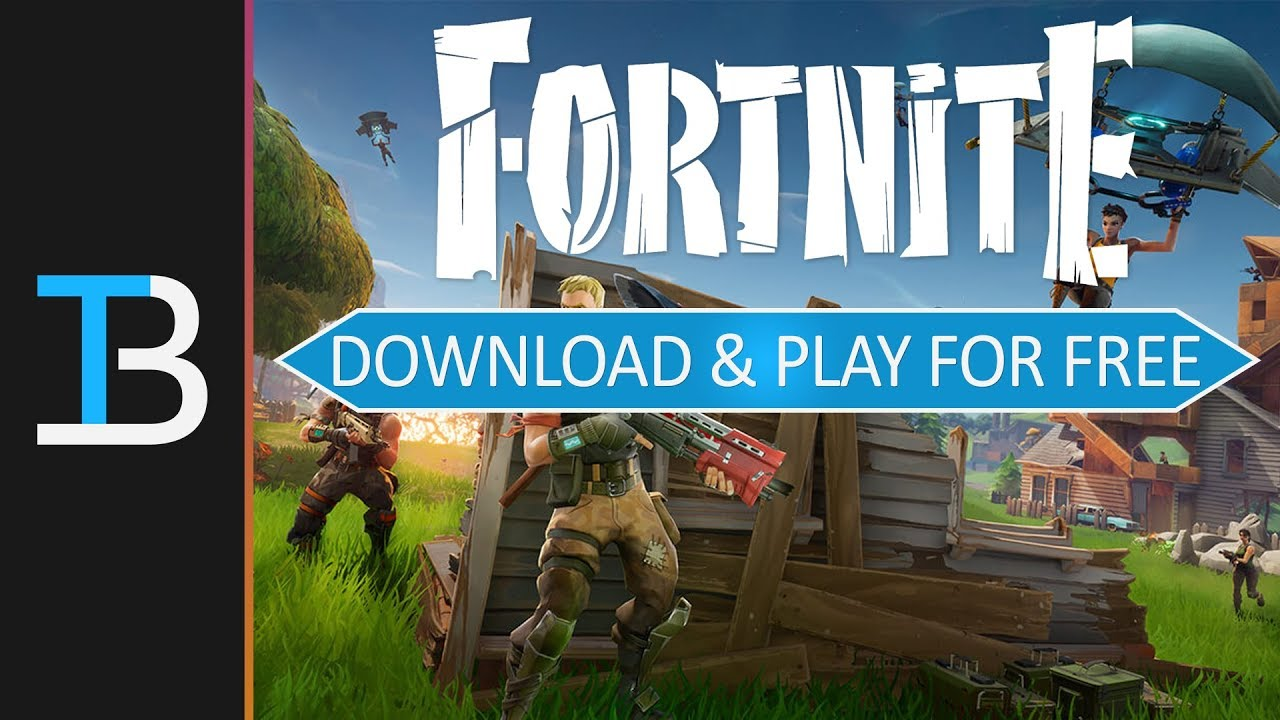 How To Download Play Fortnite Battle Royale For Free