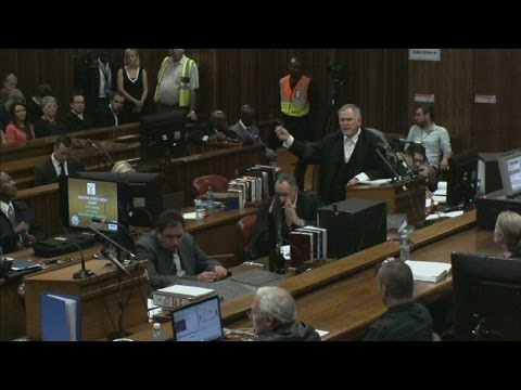 Pistorius trial day one: Athlete's lawyers tear into first witness