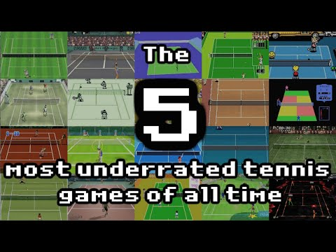 The 5 most underrated tennis games of all time
