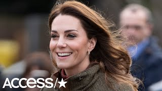 An 8-Year-Old Girl Stumped Kate Middleton With This Adorable Question About The Queen | Access