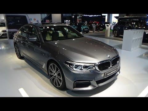 2017 BMW 540i Sedan - Exterior and Interior - Automobile Barcelona 2017