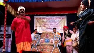Yakshagana Haasya sannivesha in Seetha Parithyaga Agasa by Seetharamkumar Kateel Padya R Mayya Agasa