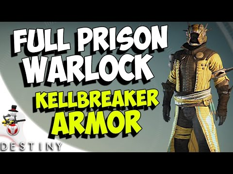 Destiny prison of elders full warlock armor stat shader showcase