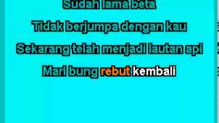 Halo halo Bandung (Karaoke + Lirik)