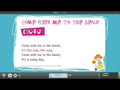 School Assembly Songs for Spring & Summer from Niki Davies and Out of the Ark with Words on Screen™