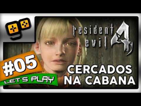 Let's Play: Resident Evil 4 [Wii] - Parte 5 - Cercados na Cabana
