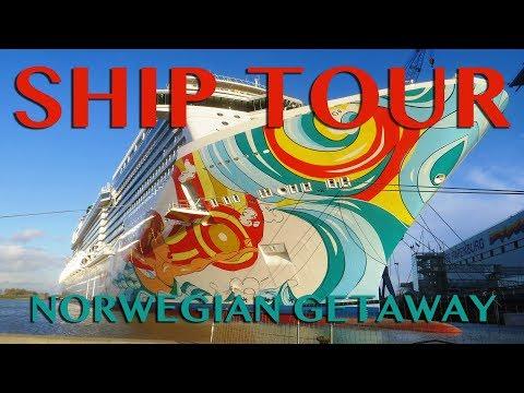 Norwegian Getaway Ship Tour