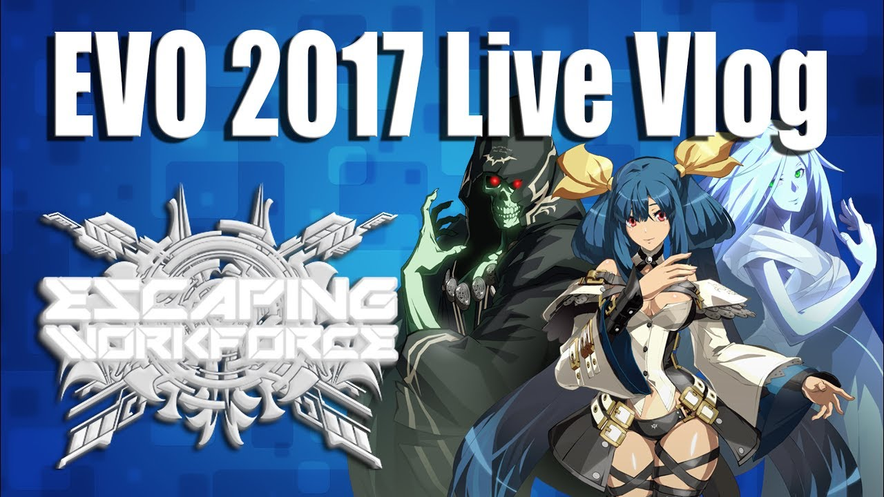 Evo 2017 Live Coverage And Vlog My Trip To Evo2017 Fgc Livestream