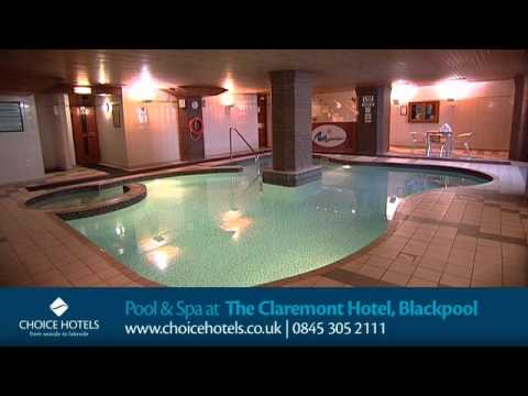 Pool And Spa At The Claremont Hotel Blackpool Youtube