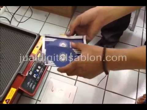 Cara Membuat Custom Casing Handphone Menggunakan Mesin Sublimasi Vakum Youtube