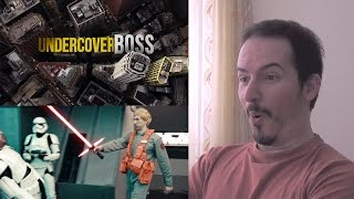STAR WARS UNDERCOVER BOSS: STARKILLER BASE - REACTION & THOUGHTS