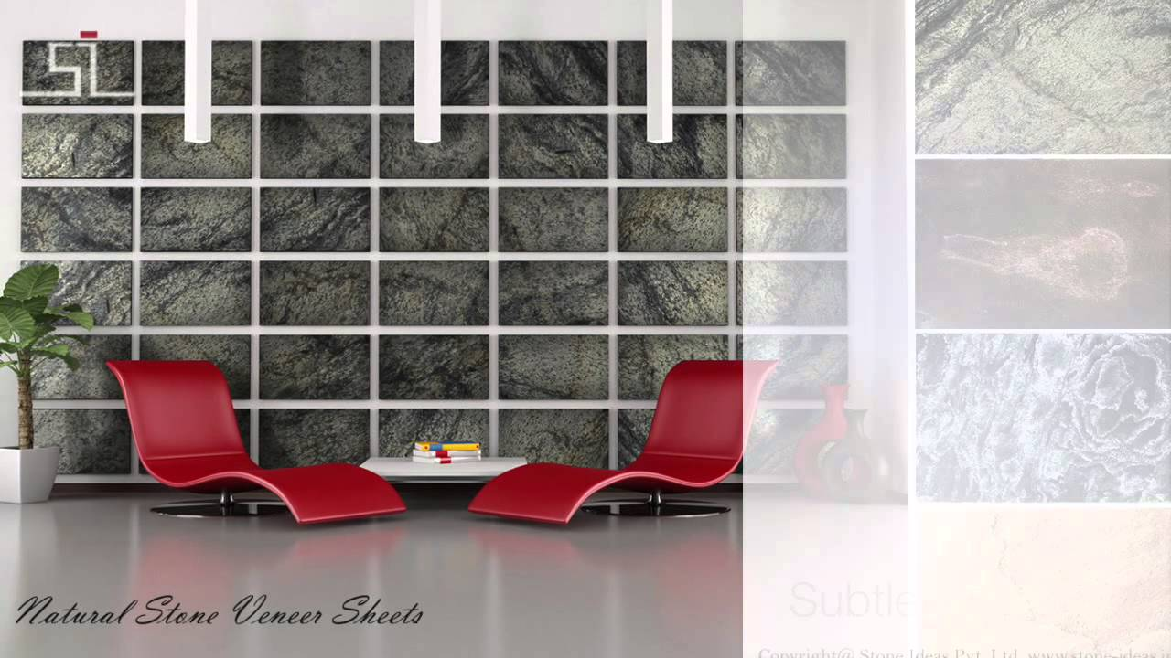 Stone veneer sheets india youtube doublecrazyfo Choice Image