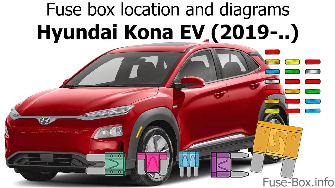 Fuse Box Location And Diagrams  Hyundai Kona Ev  2019-