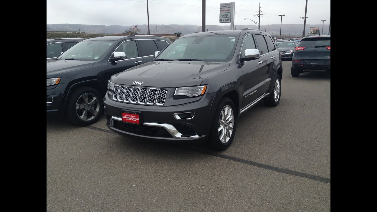 2014 jeep grand cherokee summit 4x4 5 7l hemi start up. Black Bedroom Furniture Sets. Home Design Ideas