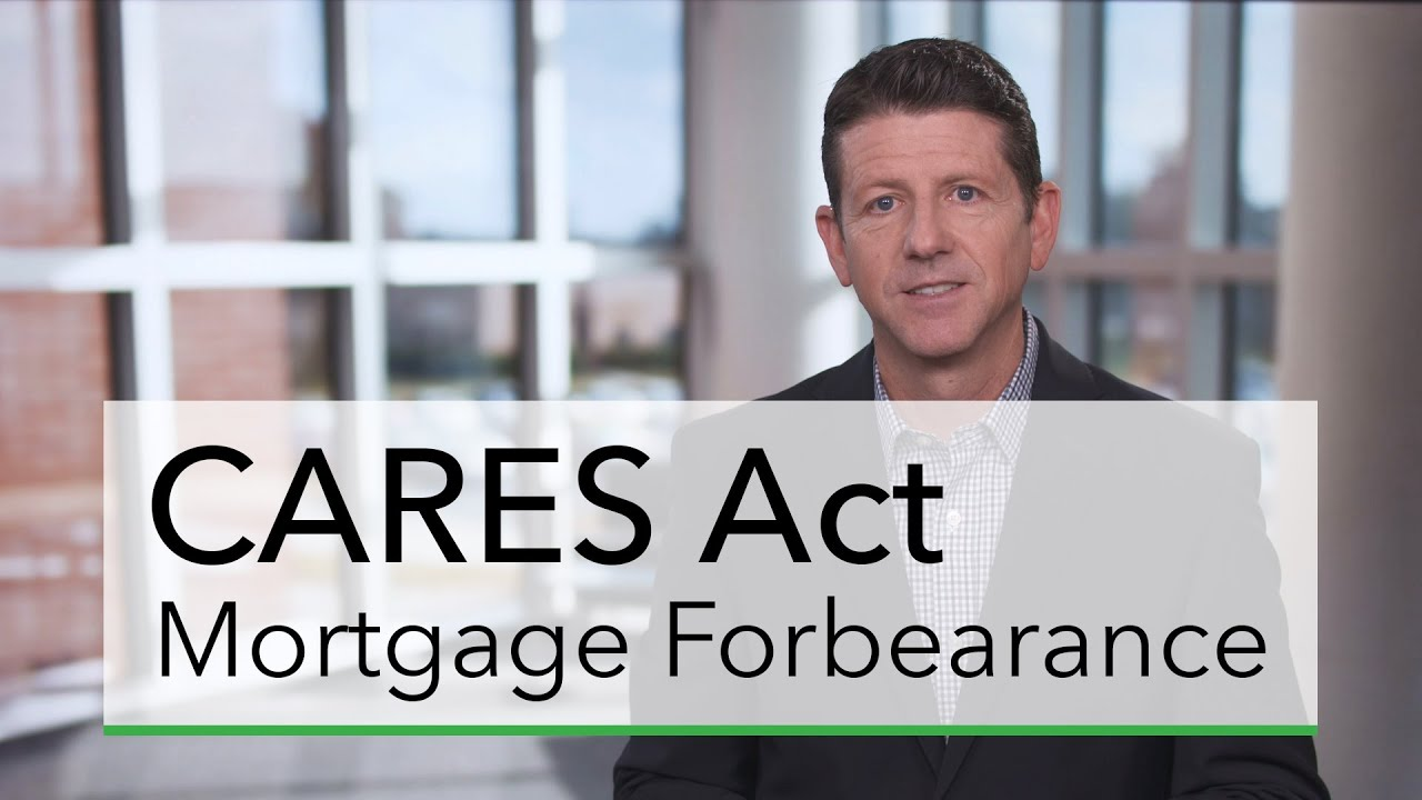Mortgage forbearance information
