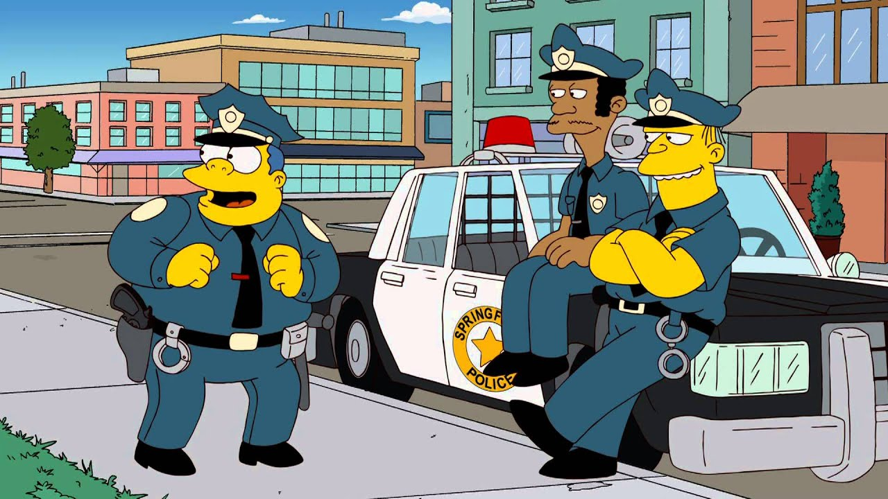 Chief of hearts youtube - Police simpsons ...