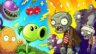 Boosted Plants vs BOOSTED Gargantuars Epic Quest - Plants vs Zombies 2