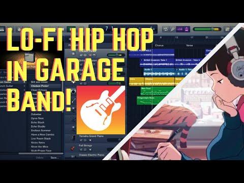 How To Make Lofi Hip Hop Music | Garageband Tutorial (Mac OSx) thumbnail