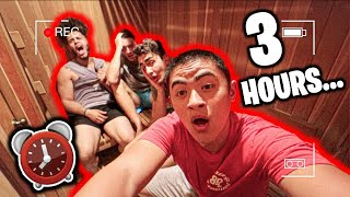 LAST TO LEAVE SAUNA WINS $1000 (Challenge)
