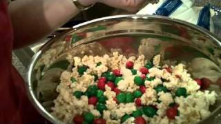Kathy's Recipe Marshmallow And Popcorn Balls 1