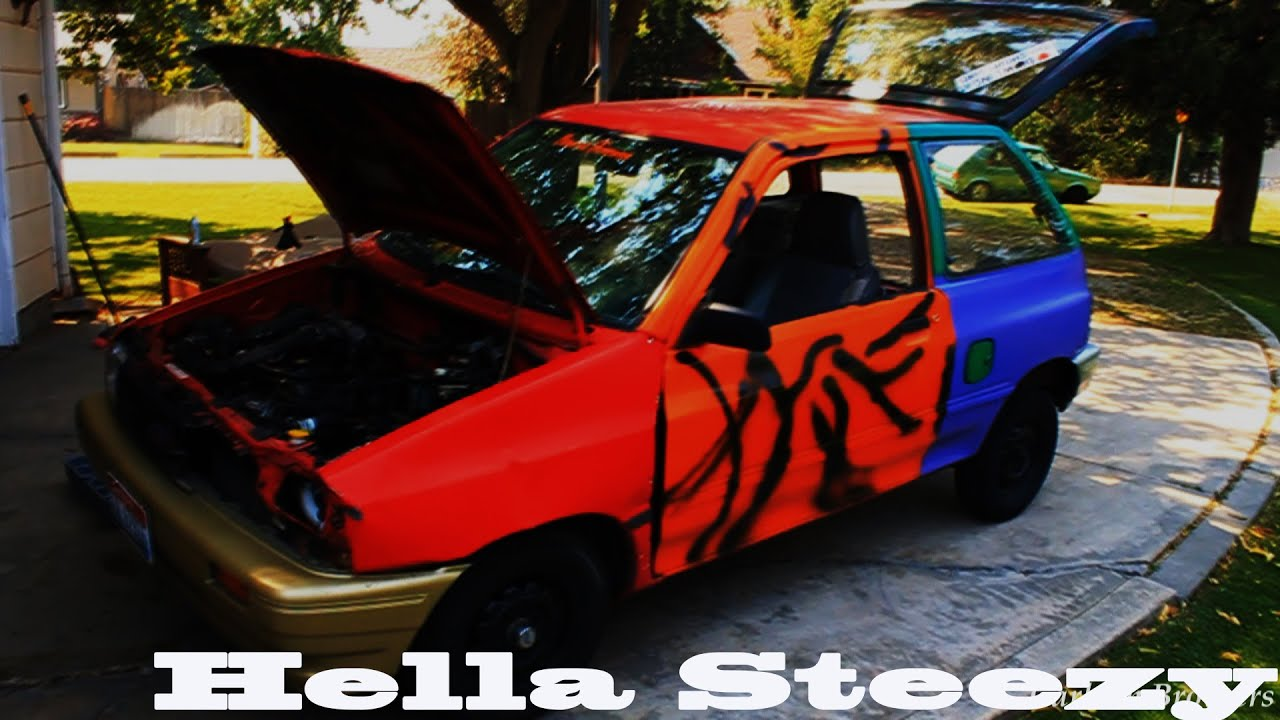 How To Stance A Ford Festiva Haggard Garage Style