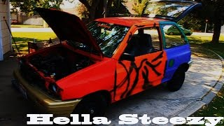 How to Stance A Ford Festiva (Haggard Garage Style)