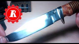 простые штуки - Самодельный охотничий нож