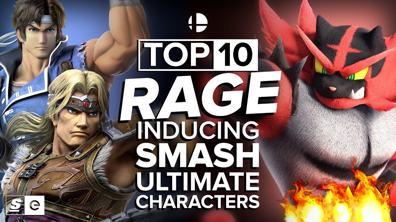 The Top 10 Smash Ultimate Characters That Make You Want to Throw Your  Controller at the Wall